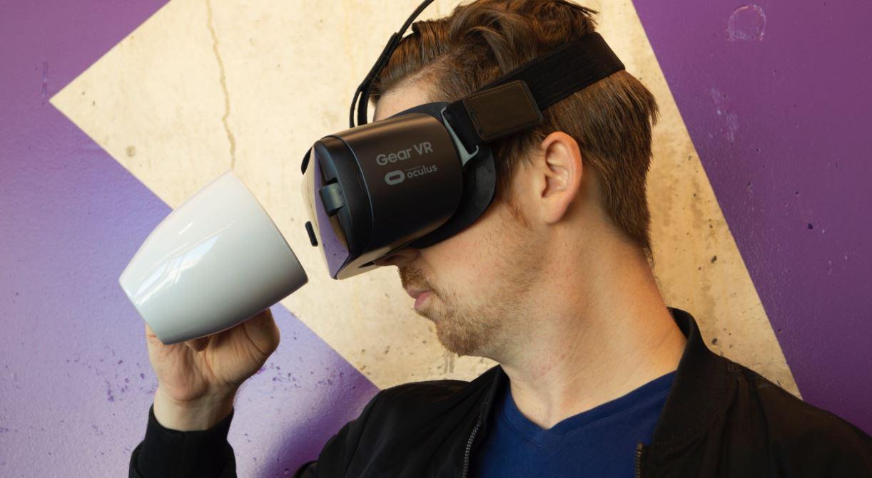 Need Coffee even in Virtual Reality